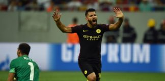 Aguero hattrick! Man City Bantai Steaua Bucharest