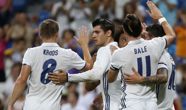 Hasil Friendly Real Madrid vs Reims3