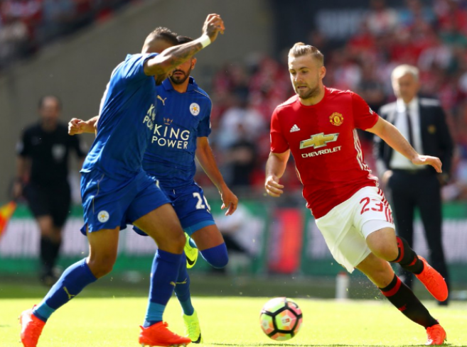 Manchester United Juara Community Shield Usai Kalahkan Leicester City 2