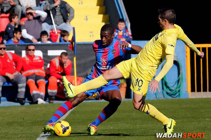 preview-bola Villareal Vs Levante 31 Juli 2017