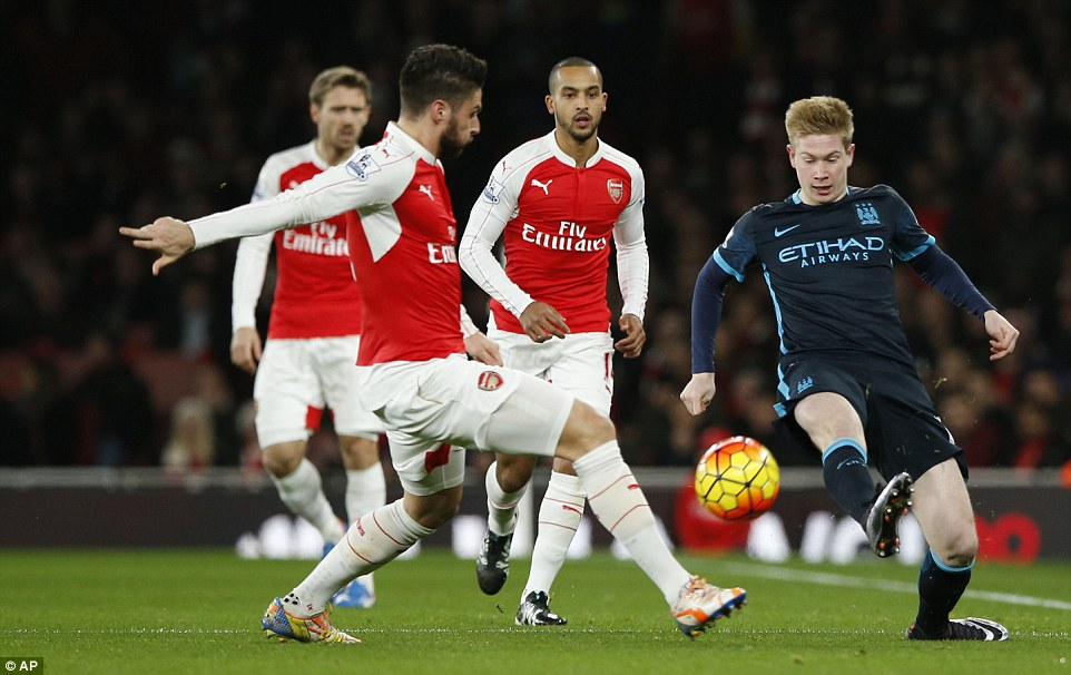 Prediksi Bola Manchester City vs Arsenal 5 November 2017