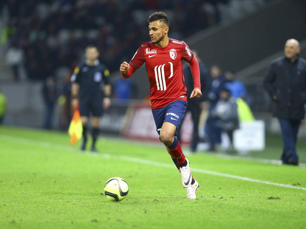 Sofiane Boufal (Lille) FOOTBALL : OSC Lille vs SCO Angers - Ligue 1 - 27/04/2016 GwendolineLeGoffx PUBLICATIONxNOTxINxFRAxITAxBEL Sofiane Boufal Lille Football OSC Lille vs SCO Angers Ligue 1 27 04 2016 GwendolineLeGoffx PUBLICATIONxNOTxINxFRAxITAxBEL