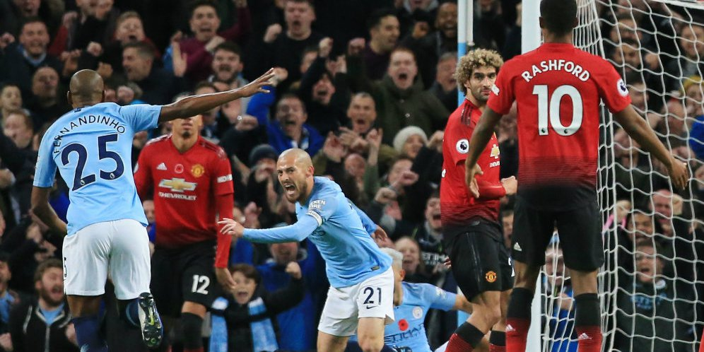 City Gulung Manchester United 3-1
