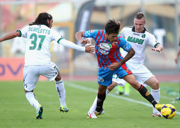 Preview Bola Sassuolo vs Catania 6 Desember 2018